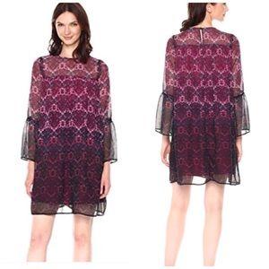 NWT Nanette Lepore Moody Romance Boho Shift Dress